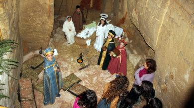 Marsala,presepe vivente nella Madonna della cava