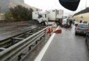 Grave incidente sull'Autostrada A29 Palermo-Mazara del Vallo, un ferito