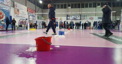 Marsala. Piove dentro il PalaBellina, salta il match tra Sigel Marsala Volley e Bartoccini Perugia