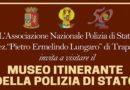 """Trapani. Presso Palazzo Cavarretta il """"Museo itinerante della Polizia di Stato"""""""