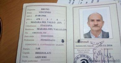 Mazara. Da 16 giorni manca da casa, ancora nessuna notizia del 74enne Vincenzo Bruno