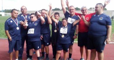 L'ASD Paralimpica Domenico Rodolico seconda alla Finale Regionale di Atletica Leggera