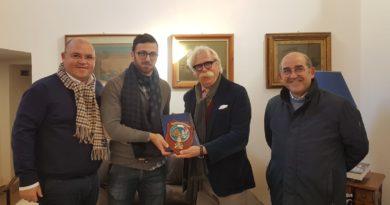 Mazara , il sindaco Nicola Cristaldi ha incontrato il comandante Esposito