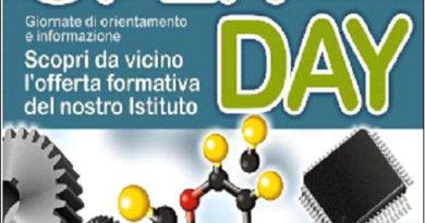 """Mazara : Istituto Superiore """"R. D'Altavilla – V. Accardi giornata ,Open Day."""