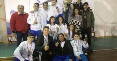 Campionato regionale taekwondo la società mazarese asd taekwondo 2000 1^ nella categoria senior
