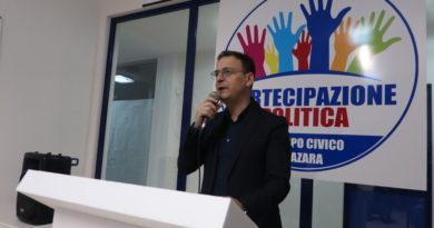 Mazara:. presentata ufficialmente la candidatura a sindaco di Salvatore Quinci (video)