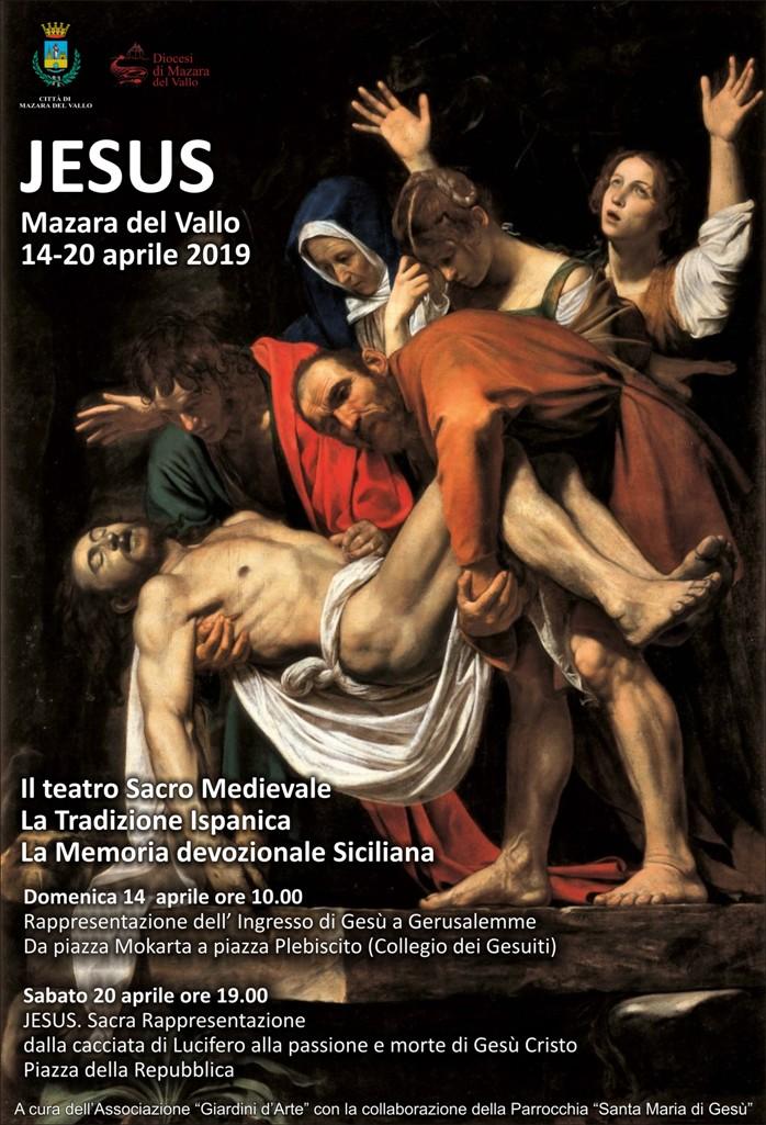 Mazara jesus: sabato 20 aprile originale sacra rappresentazione