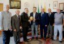 Mazara. La sezione dell'associazione nazionale cavalieri della repubblica in visita al palazzo di citta'