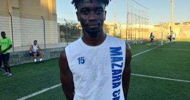 Mazara calcio: In maglia canarina arriva l'attaccante Tamba