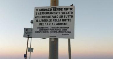 Ferragosto sicuro nel Trapanese, l'ordinanza che vieta i falò