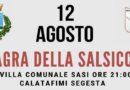 A Calatafimi Segesta la sagra della salsiccia organizzata dalla U.S.D Calatafimi Don Bosco