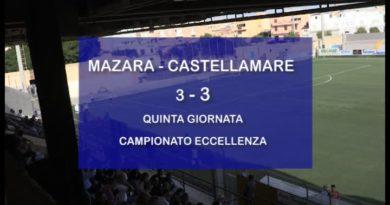 MAZARA VS CASTELLAMARE<span class='video_title_tag'> -Video</span>