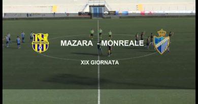 MAZARA VS MONREALE<span class='video_title_tag'> -Video</span>