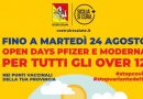"""Covid. In Sicilia gli """"open days"""" proseguono fino al 24 di agosto"""