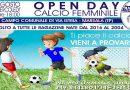 Calcio Femminile Marsala. Due OPEN DAY rivolti alle ragazzine nate dal 2016 al 2004