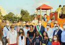 """Marsala. Nuovo parco giochi sul Lungomare. Moltissimi bambini e tanta partecipazione all'inaugurazione. Il sindaco Grillo: """"Un momento di gioia per la nostra città"""""""