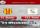 Match Mazarese vs C.U.S. Palermo: i convocati  Intervista riassuntiva della settimana a Francesco Corso
